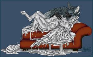 Liquid metal lounging by Bear-hybrid