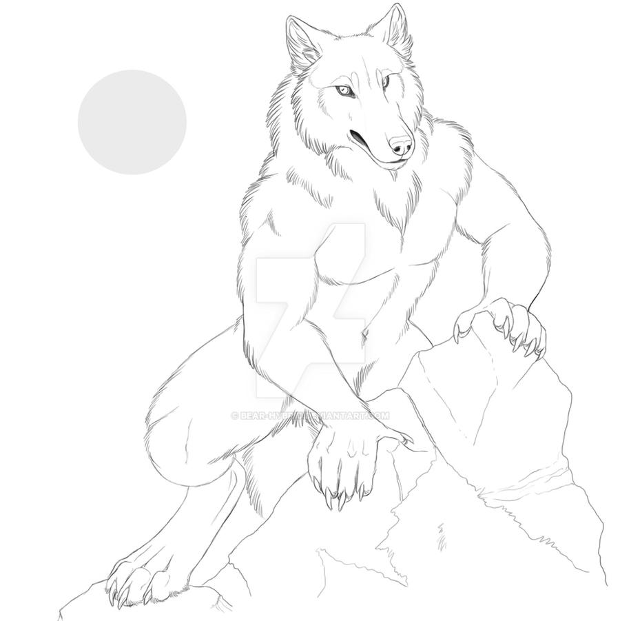 Dart Werewolf by Bear-hybrid