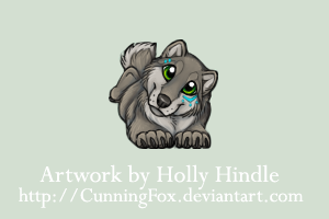 Happy little wolfbear by CunningFox