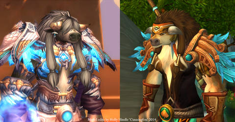 Female tauren customized