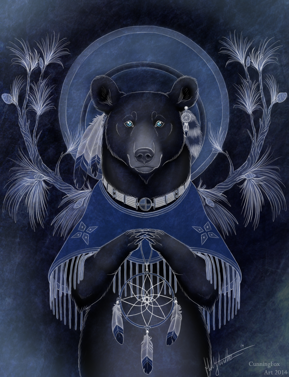 Native American Bear by CunningFox on DeviantArt