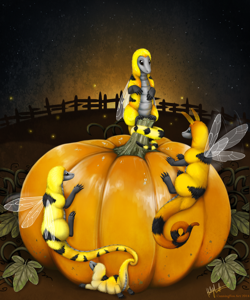 Harvest pumpkin by CunningFox