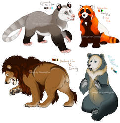 Bear (hybrid) Character adopts by Bear-hybrid