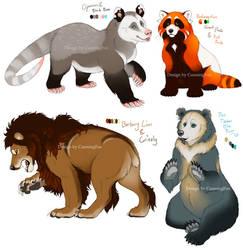 Bear (hybrid) Character adopts