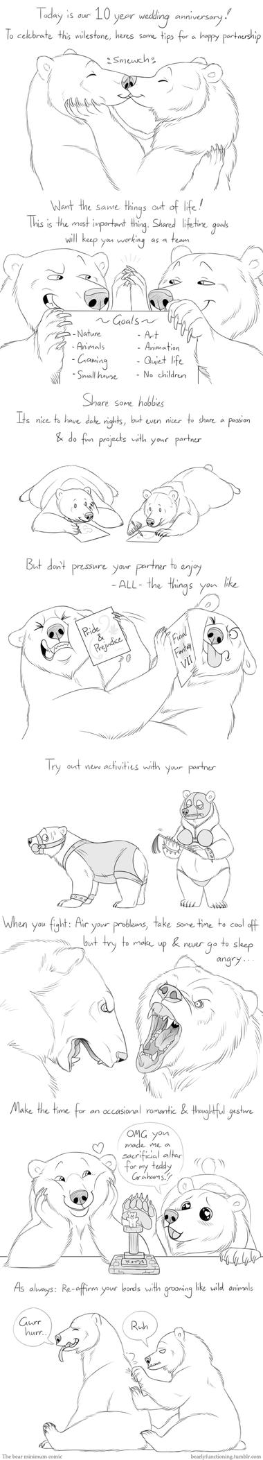 10 happy years by Bear-hybrid