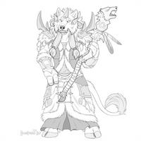 Dark shaman by Bear-hybrid