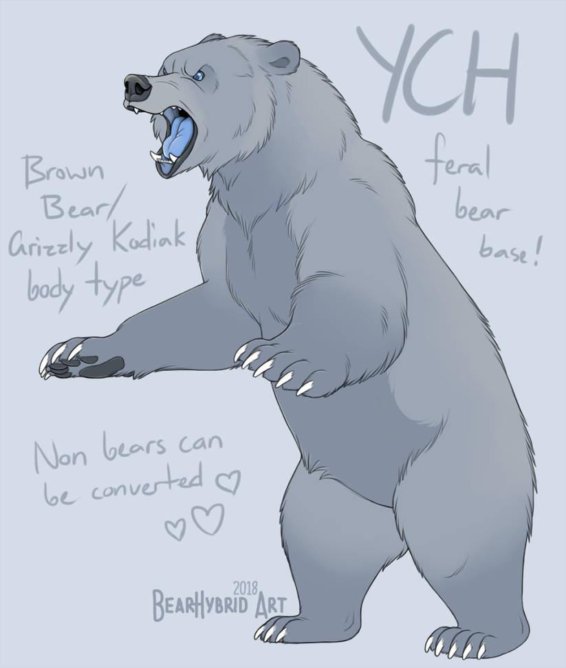 YCH Angry Bear By Bear-hybrid On DeviantArt