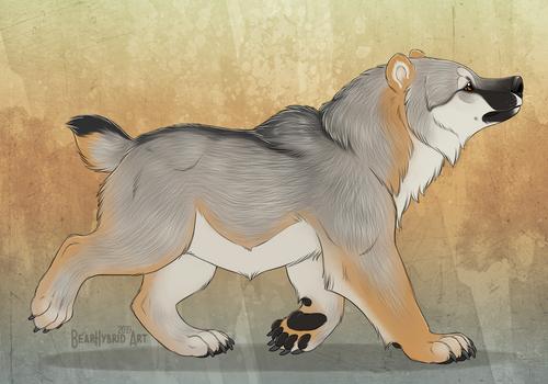 Vulpine wolfbear