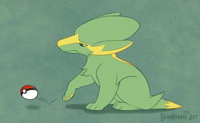 Idle pokemon by Bear-hybrid