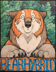 Vancoufur Conbadge by Bear-hybrid