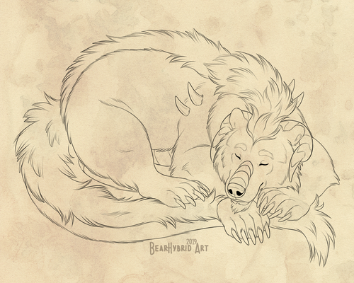Sleepy Dragonburr