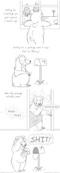 Postage problems by Bear-hybrid
