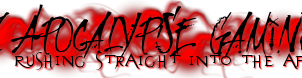 Dark Apocalypse Gaming Banner by xKeepher