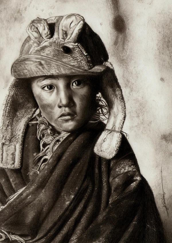 Children Portrait by AmBr0