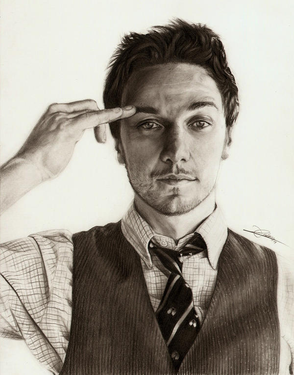 James McAvoy by AmBr0