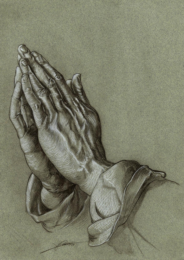 The Praying Hands by AmBr0