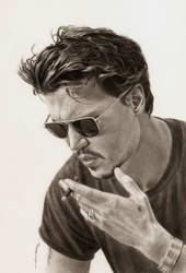 Johnny Depp by AmBr0