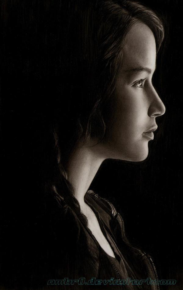 Jennifer Lawrence (Hunger Games) by AmBr0