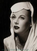Hedy Lamarr by AmBr0