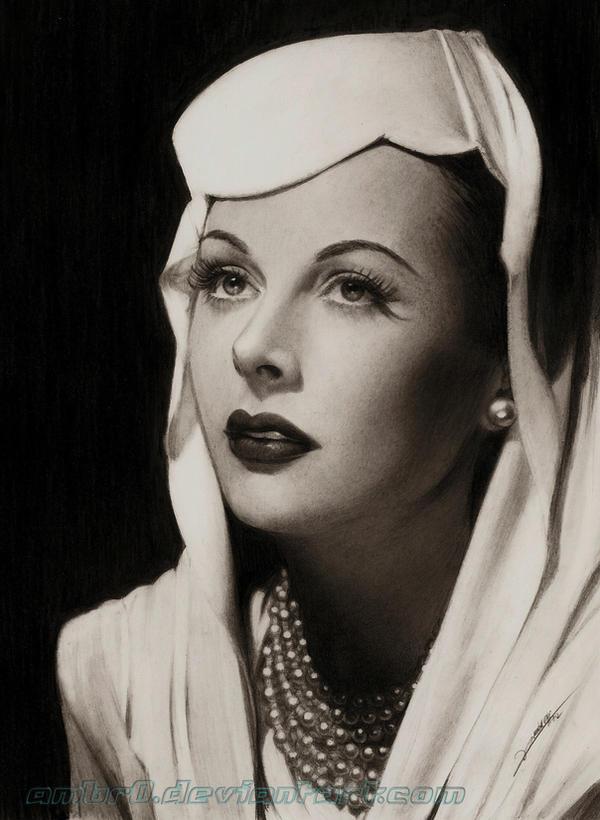 Hedy Lamarr by AmBr0