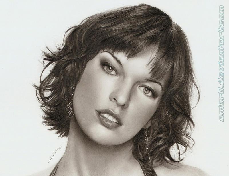 Milla Jovovich by AmBr0