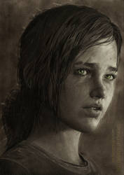Ellie (The Last Of Us) by AmBr0