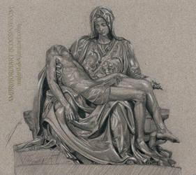 Pieta Study (Michelangelo)