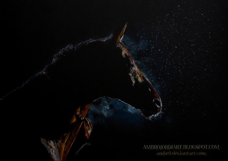 Horse in the Dark by AmBr0