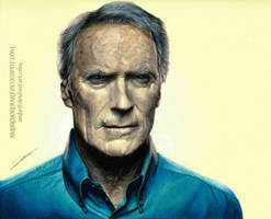Clint Eastwood by AmBr0