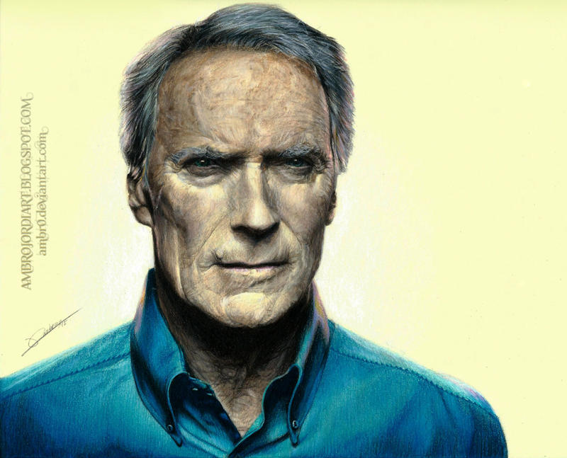 Clint Eastwood by AmBr...