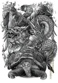 Chinese Auspicious Creatures
