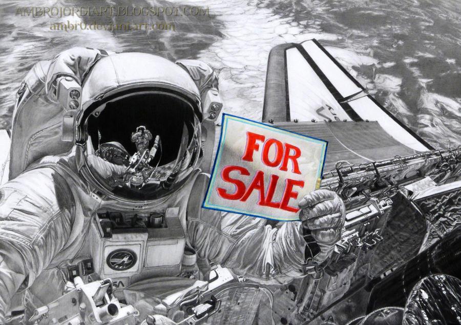 Astronaut by AmBr0 on DeviantArt