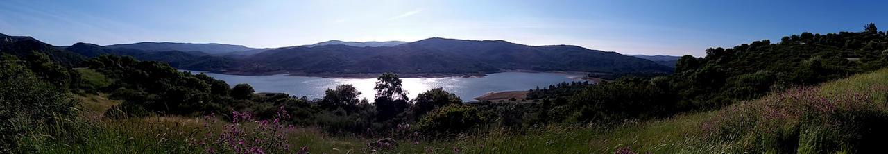 Castellar de la Frontera, Guadarranque reservoir by AmBr0