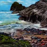 Kynance Cove by AmBr0