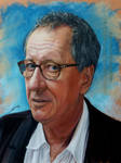 Geoffrey Rush by AmBr0