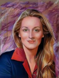 Meryl Streep by AmBr0