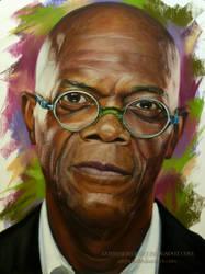 Samuel L. Jackson by AmBr0