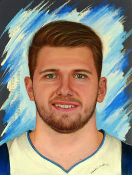 Luka Doncic Drawing