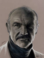 Sean Connery Drawing