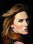 Kate Winslet Drawing by AmBr0