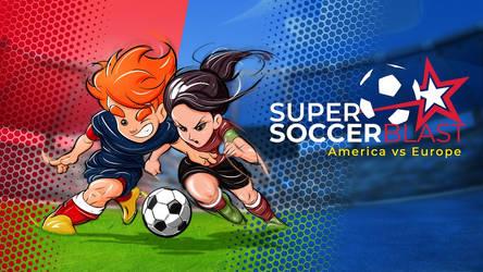 Super Soccer Blast America vs Europe Cover