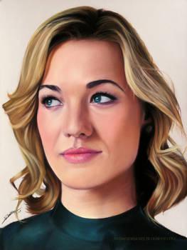 Yvonne Strahovski Drawing Realistic