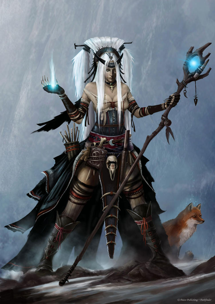 Feiya - Pathfinder Iconic Witch by Markelli