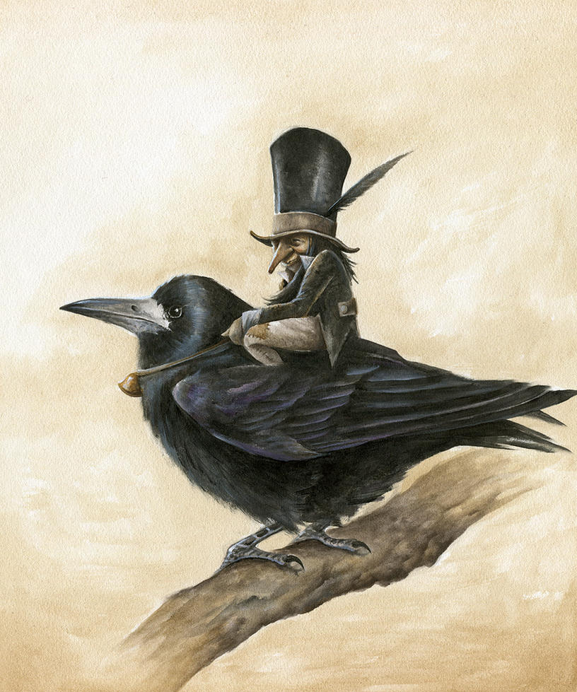 The Old Rook Rider by Markelli