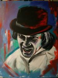 Mcdowell. Cwo. 30x36 canvas acrylic ink