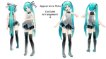 Api Miku Costume Arrangement A (Updated DL again!)