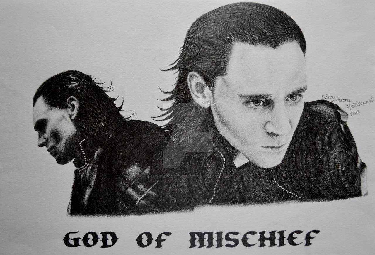 Loki - God Of Mischief by cute06