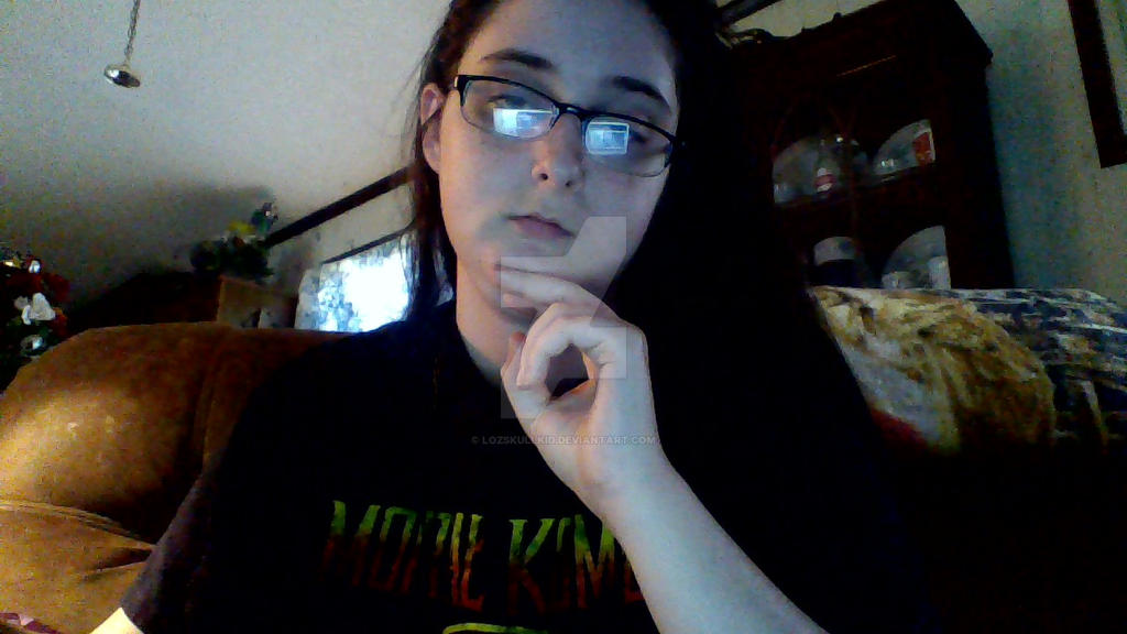 Post a picture of yourself - Page 2 Just_at_home_sitting_on_the_laptop____by_lozskullkid-d9gtll7
