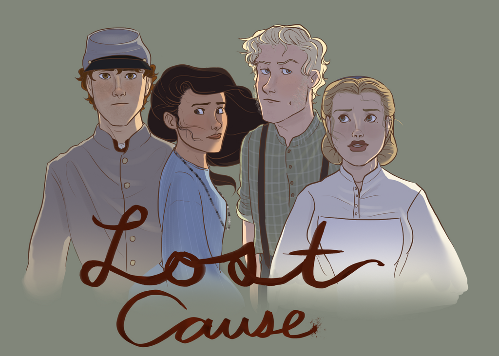 Lost Cause Promotional Poster by tweelin