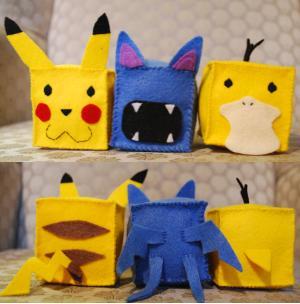 Cubes: Pokemon by HelloBatty